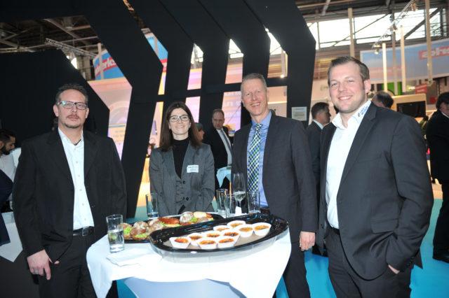 Andreas Meurers (Laux&Meurers), Anja Schultes (VDB), Achim Köhler (BB Saarland), Peter Laux (Laux&Meurers)