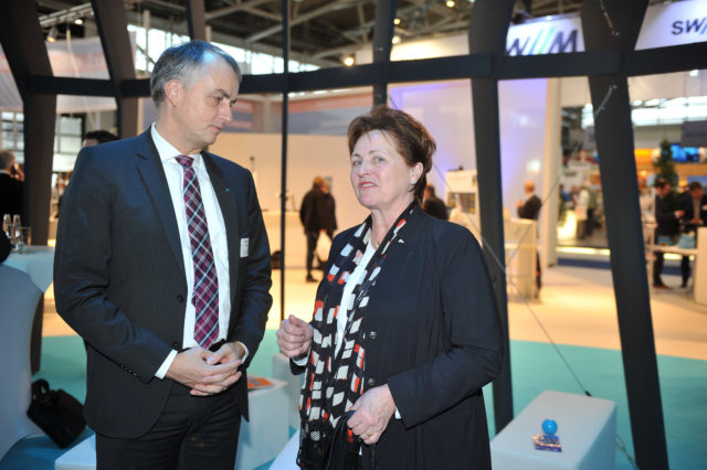 Dr. Evelin Friedrich (BMWi), Stephan Jansen (VDB)