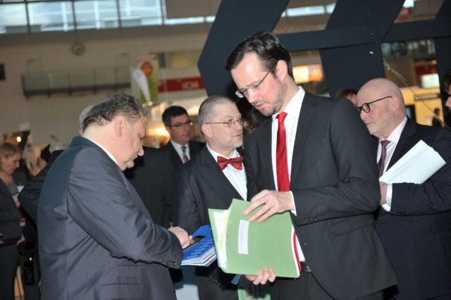 Hans Peter Wollseifer (ZDH), Dirk Wiese (BMWi)