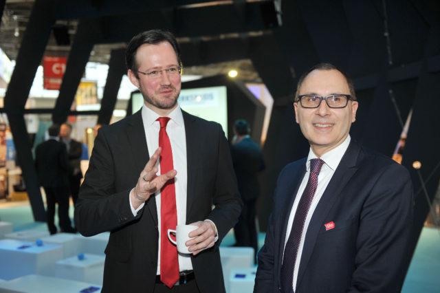 PSts Dirk Wiese (BMWi) und Guy Selbherr (VDB)