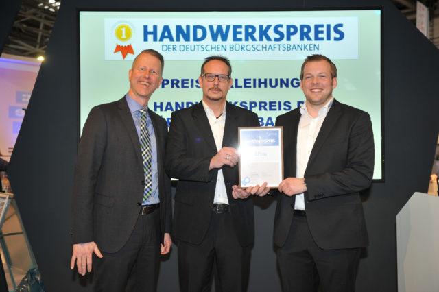 Peter Laux und Andreas Meurers mit BB Saarland